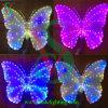 Luz animal de la escultura del LED de la luz colorida de la mariposa
