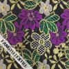 Красивейшая ткань шнурка картины цветка цвета