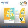 Impression spéciale de découpage de brochure de couleur de forme (AZ010506)