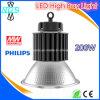 Indicatore luminoso chiaro della baia del UFO LED 200W LED di Philips alto per il magazzino