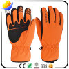 Перчатки спорта померанцовой зимы водоустойчивые