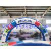 Voûte gonflable annonçant le produit pour l'activité de promotion/voûte gonflable extérieure de PVC