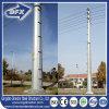Torre de comunicación de acero galvanizada/torre tubular de la transmisión de acero redonda