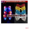 Cravate à manches courtes LED Feuilles de fête Cravate en soie Mariage (B8130)