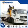 Grue montée par camion télescopique Sq12sk3q de boum de 12 tonnes à vendre