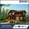 Casa portable prefabricada hermosa hecha por la estructura de acero de Light