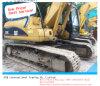 Excavatrice utilisée utilisée de chenille du chat 320c de machines de construction
