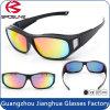 Lunetterie de femmes de créateur de marque polarisée grands par hommes de lunettes de soleil de bâti de sport