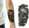 Etiqueta engomada temporal impermeable del tatuaje del modelo de moda de la máquina 3D