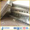 Panneau en aluminium de marbre de nid d'abeilles de qualité pour le mur de revêtement