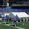 Большие изогнутые напольные шатры случая для цели спортов