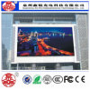 Alta pantalla de visualización al aire libre de LED del brillo P8 que hace publicidad de la pared video