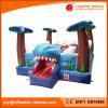 Bouncer Bouncy de salto inflável do tubarão do mundo do mar (T1-301)