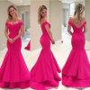 Fuchsia Bridal мантия выпускного вечера с платьев вечера Wd73 Mermaid плеча