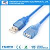 USB de alta velocidad 3.0 un varón a los cables de extensión de la uno-Hembra