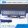 CREE DEL de haute performance de 72W Lightbar travaillant le guide optique