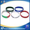 Wristband del silicone con il marchio stampato