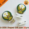 유일한 선물 (YT-BL)를 위한 주문 형 PVC USB 섬광 드라이브