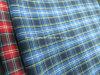 CVC färbte Garn Popelin-Check-Gewebe für Hemd