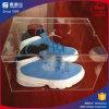 Rectángulo de zapato de acrílico claro superventas para las mujeres