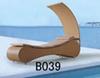 ポリ塩化ビニールの藤の家具(B039)