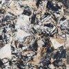 完全な艶をかけられた磁器のタイルの大理石の石パターン