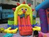 Mini bouncer do leão inflável, castelo de salto do leão