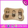 El entrenamiento del perro del diseño trata especialmente los juguetes de madera W06f034 del rompecabezas del perro del perro del rompecabezas de los juguetes de la mejor búsqueda interactiva de madera del animal doméstico