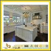 Alta qualità Polished Castro White Marble Countertop per Kitchen/Bathroom (YQC)