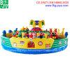 Aufblasbarer Elefant-Spielplatz, riesiges aufblasbares Funcity (BJ-FU06)