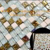 Het Mozaïek van het Glas van het plateren met Gestippeld (0515756)
