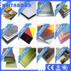 Feuille en plastique en aluminium de revêtement de mur avec du bon matériau de faisceau