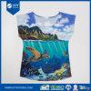 De gepersonaliseerde Katoenen van de Douane Reactieve Digitale Afgedrukte T-shirt van Vrouwen