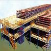 Suelo de acero del Decking del estante del entresuelo de la estructura de acero del elevador del almacén