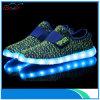 Éclairage LED de confort de 2016 chaussures de mode vers le haut des chaussures pour des gosses