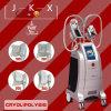 Máquina que adelgaza gorda congelada con 4 manetas Cryolipolysis