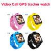 3G人間の特徴をもつSIMビデオ呼出し子供の腕時計GPSの追跡者