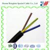 Câble plat de PVC avec le fil électrique