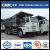 Sinotruk 6X4 HOWO 60ton 광업 덤프 트럭