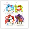 Papierbeispielweihnachtsgeschenk-Marken