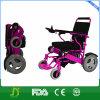 年配者は電気折る車椅子のスクーターを使用する