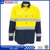 De Overhemden van het Werk van de douane met het Weerspiegelende Achter Luchten van de Band (YWS119)