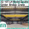 Doppelter Träger-elektrischer bewegender Laufkran 32/10 Tonnen-Laufkran