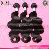 Части волос Remy естественного цвета черных волос индийские
