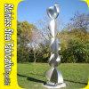 OEM 스테인리스 조각품에 있는 옥외 추상 예술 조각품