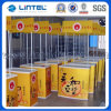 Promotion Locked Counter Plastic Pop acima Display Table (LT-08B)