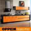 Armário de cozinha estratificado da parede da laranja único (OP12-L053)