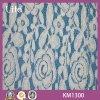 Tissu de lacet de nylon et de coton (Km1300)