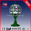 Natale Gifts Green LED Tabletop Lamp con Top Lace Decoration
