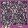 Cotton bon marché Lycra Lace Fabric pour Clothing Factory Oulet